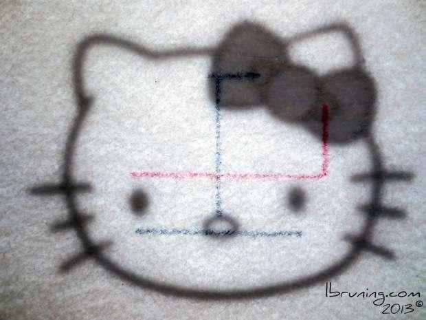Hello Kitty eTextile Circuit
