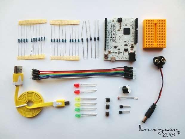 Boarderless Electronics faux Arduinio Leanardo Board Kit